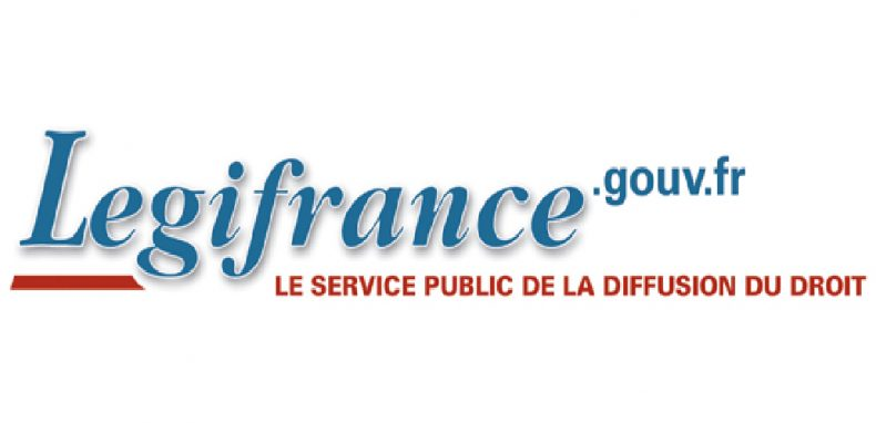 logo de legifrance