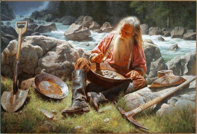 pionnier en orpaillage