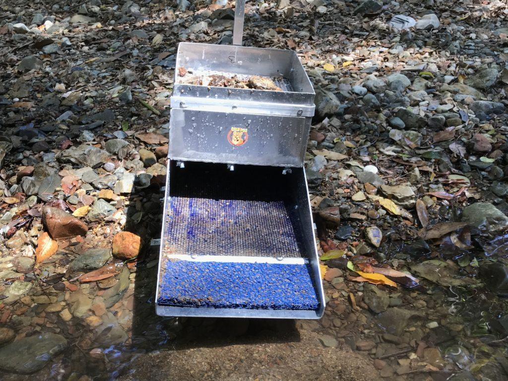 le rocker box pour orpailler sans courant