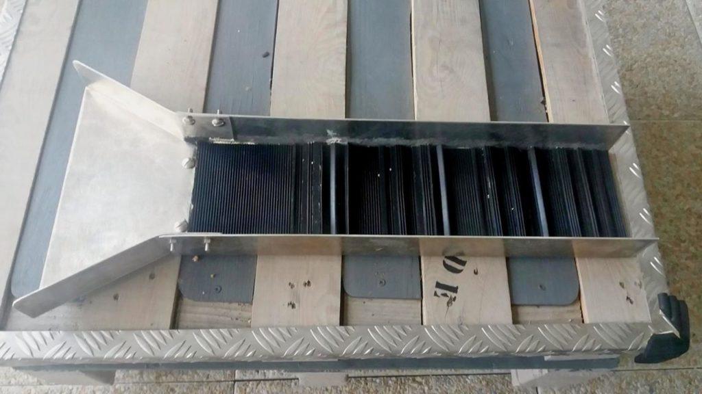 rampe customisé avec du V mat