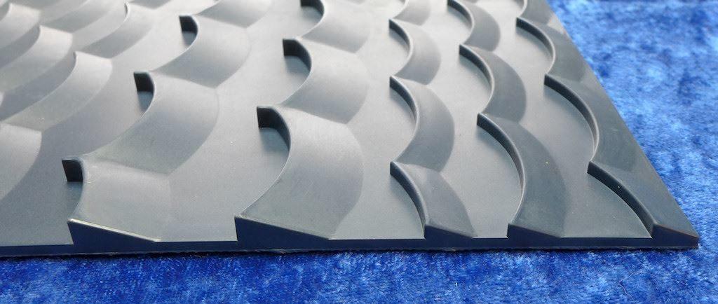 le goldfish mat , tapis d'orpaillage allemand de chez goldblitz
