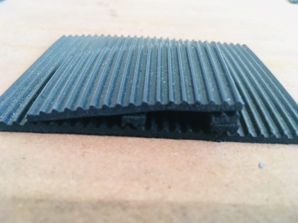 V mat orpaillage pour rampe DIY