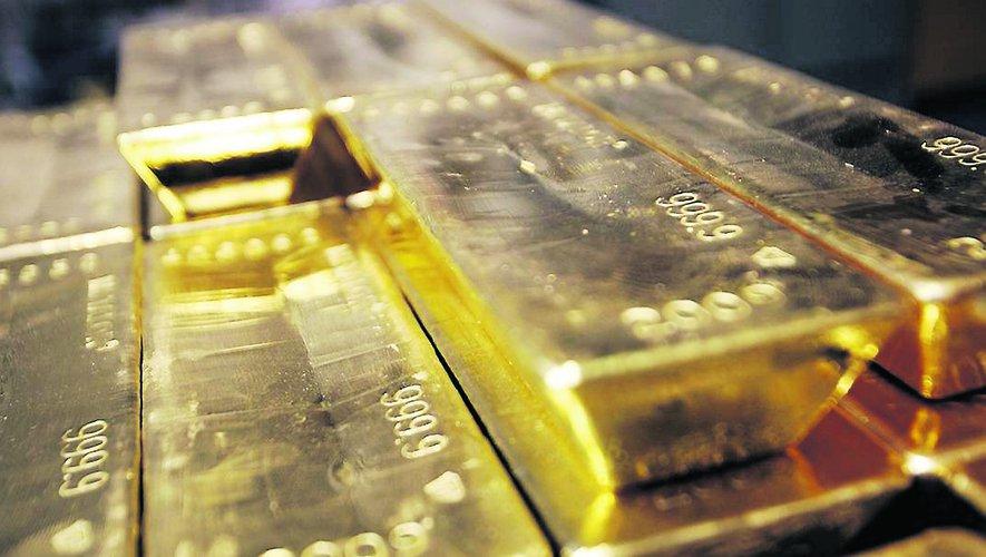 lingot d'or dans la banque de france