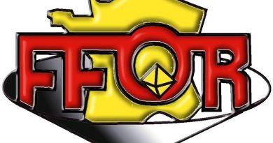 logo officiel de la FFOR federation orpaillage france