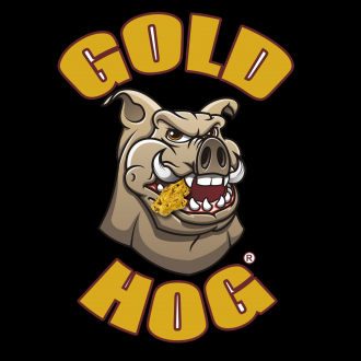 logo officiel goldhog sur fond noir