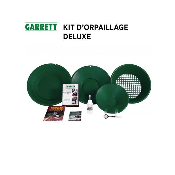 le celebre kit garrett, la première marque à proposer un kit complet d'orpaillage