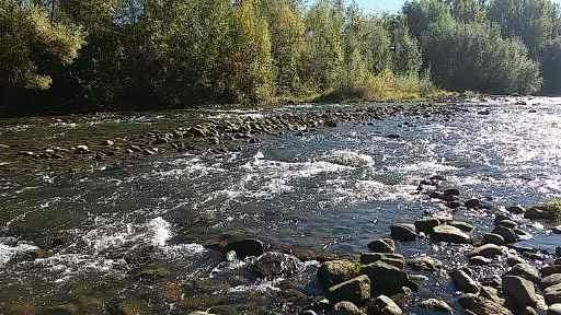rivière de l'aude parfait pou rl'orpaillage