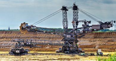 mine à ciel ouvert d'extraction d'or
