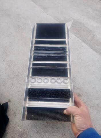mini rampe de prospection fabriqué soi même