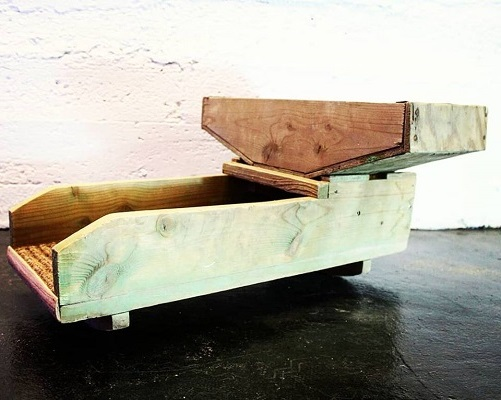 rocker box en bois