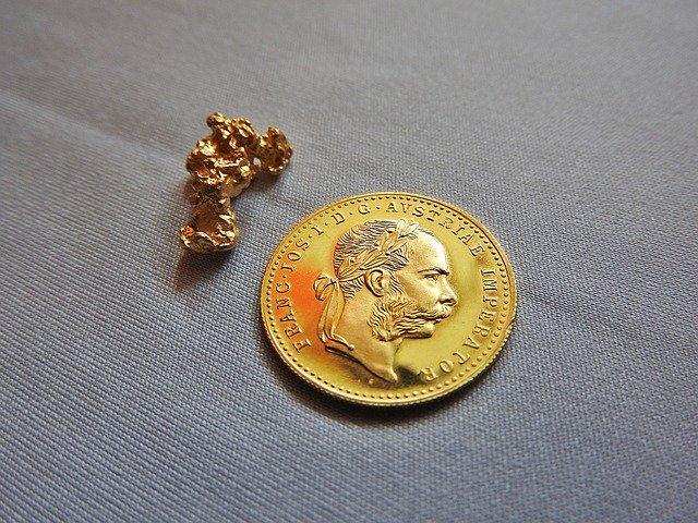 la vente de pépites et monnaie en or est possible en boutique de vente d'or