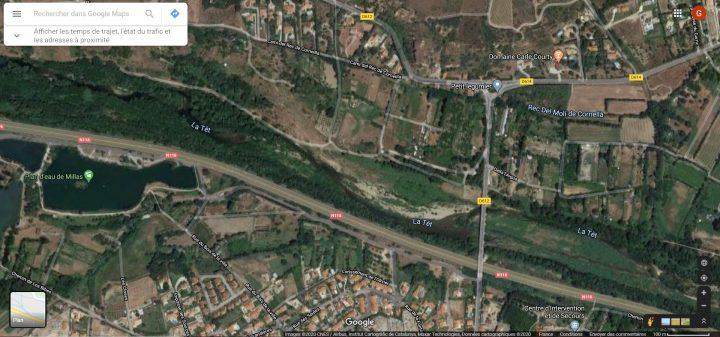 prospection de placier avec une vue satellite
