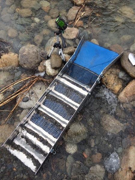 rampe de lavage professionnelle pour l'orpaillage et gold digger