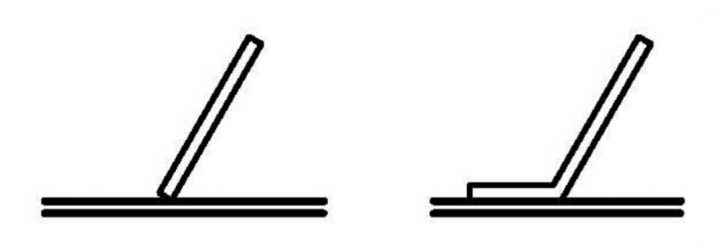 le riffle plat epour un erampe d'orpaillage est la riffle la plus commune