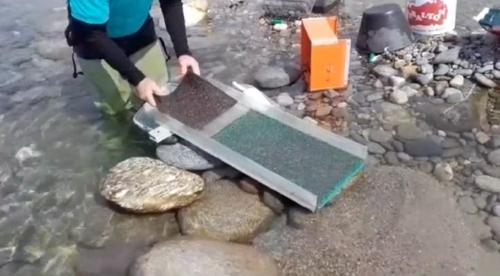 nettoyage de la rampe hors courant