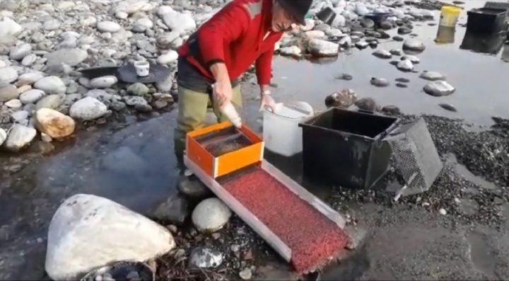 alimentation en eau de la rampe hors courant