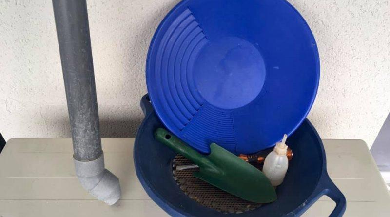les outils de base en orpaillage