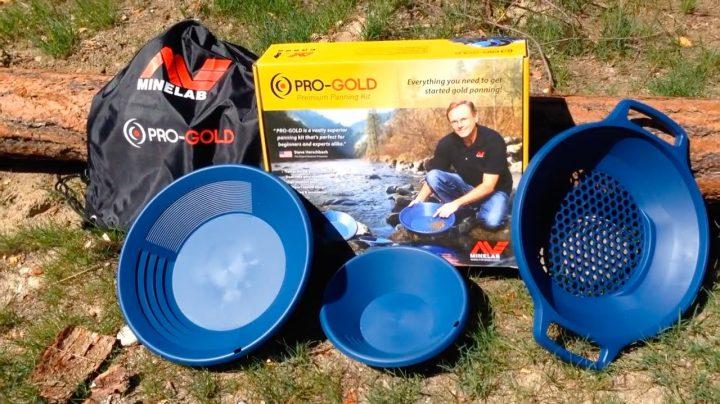 la materiel d'orpaillage en kit de minelab