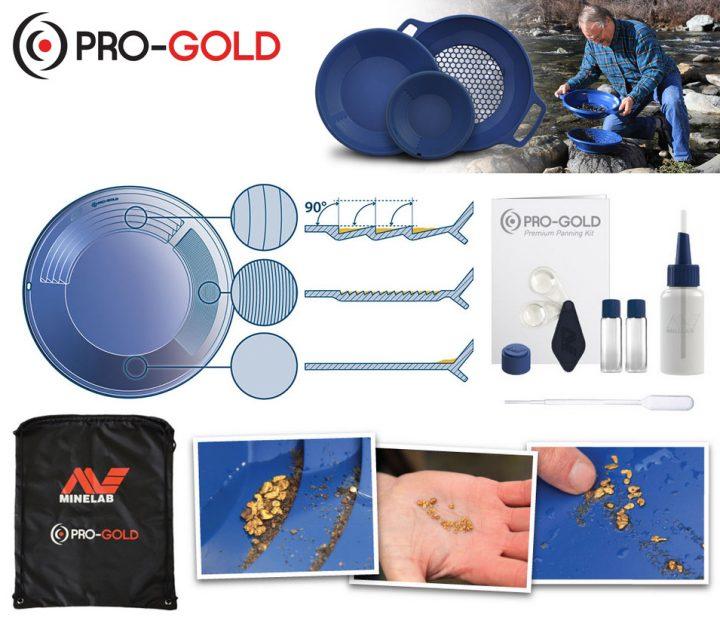 le kit d'orpaillage est un matériel de base en orpaillage