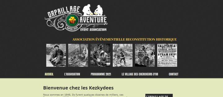 présentation du site orpaillage aventure