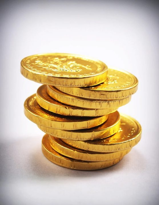 les monnaies en or ont une valeur fiscale