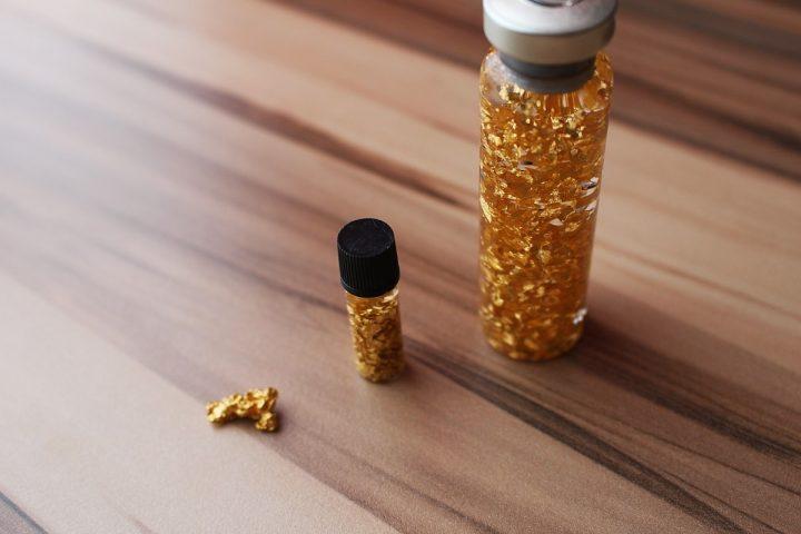 paillettes et pépites d'or ont leurs propre fiscallité