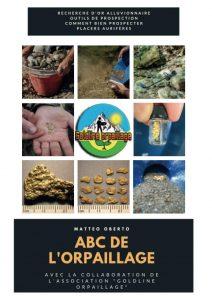 première de couverture du livre l'ABC de l'orpaillage par goldline orpaillage