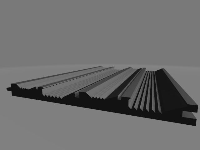 impression 3d tapis d'orpaillage