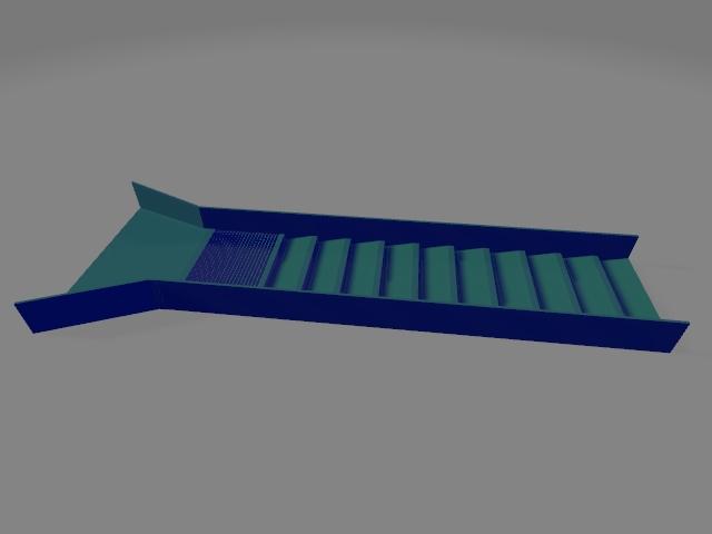 impression 3d grande rampe d'orpaillage