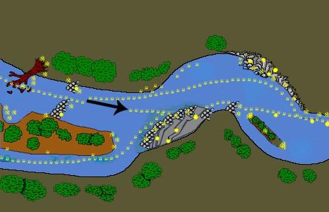ou trouver de l'or dans la rivière ?