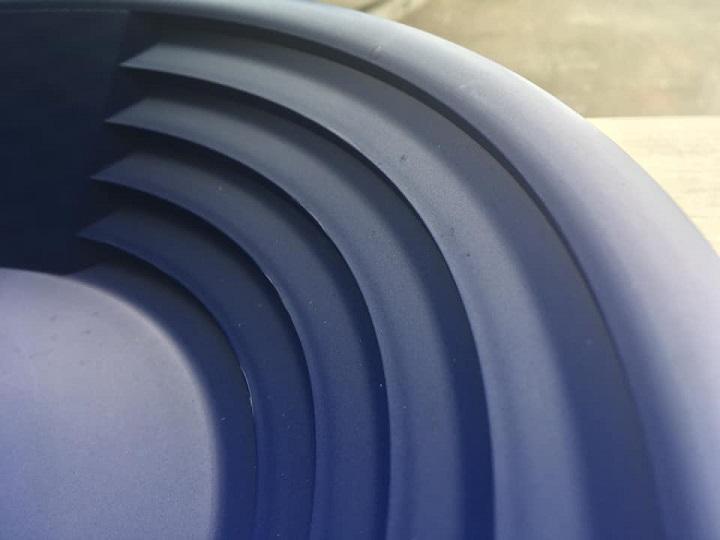 détail des riffles du grand pan americain du kit d'orpaillage de chez xp
